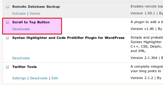 activateplugin