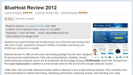 Best Hosting Search Review